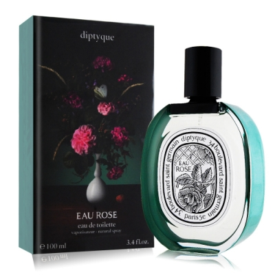 Diptyque 夢想花束-玫瑰之水 Eau Rose 限量淡香水100ml-國際航空版