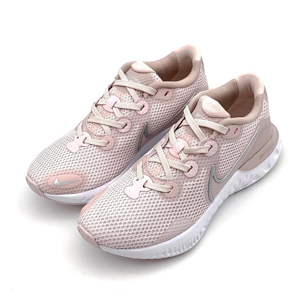 NIKE  WMNS RENEW RUN 女 跑步鞋 淺粉-CK6360600