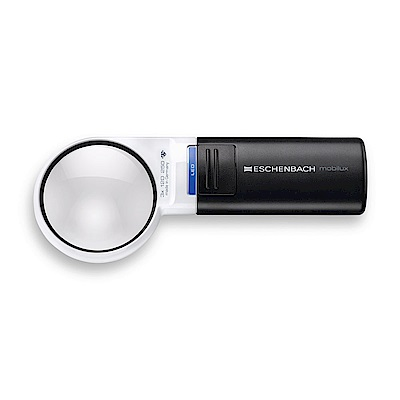 【Eschenbach】3x/12D/60mm 德國製LED手持型非球面放大鏡15112