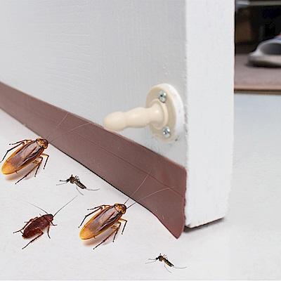 樂嫚妮 DIY 防蟲門縫/門窗密封條- 5米-棕色