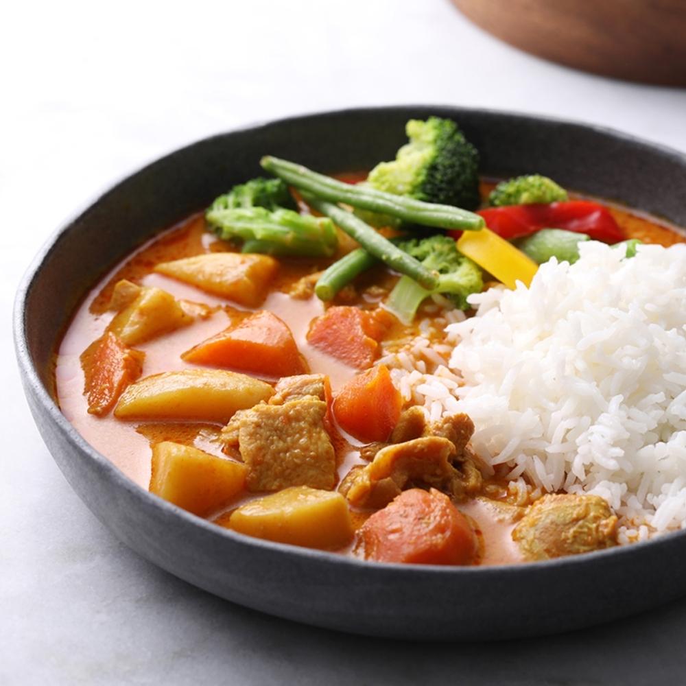 花蓮家咖哩 椰香辣雞咖哩料理包2入/盒(共520g)