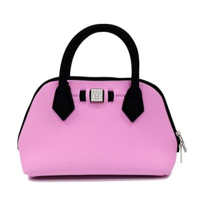 SAVE MY BAG 義大利品牌 PRINCESS MINI系列 俏麗粉超輕量迷你手提包