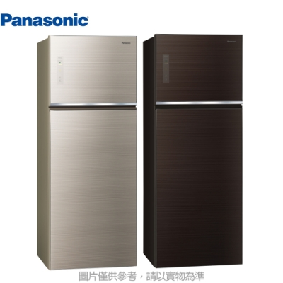 Panasonic國際牌 485L 1級變頻2門電冰箱 NR-B481TG