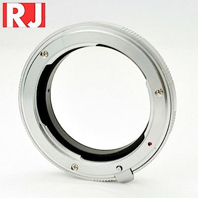 RJ製造 NIKON F轉OM4/3鏡頭轉接環