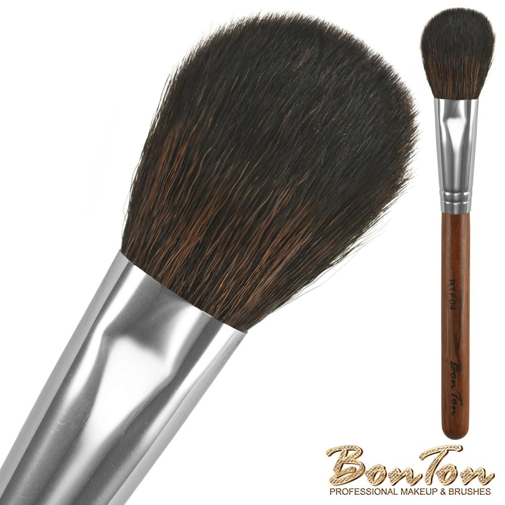 BonTon 原木系列 扁腮紅刷 RTF04 頂級光鋒羊毛