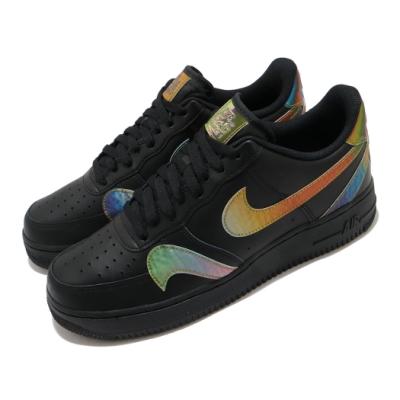 Nike 休閒鞋 Air Force 1 07 LV8 男鞋 基本款 簡約 皮革 質感 球鞋 穿搭 黑 彩 CK7214001