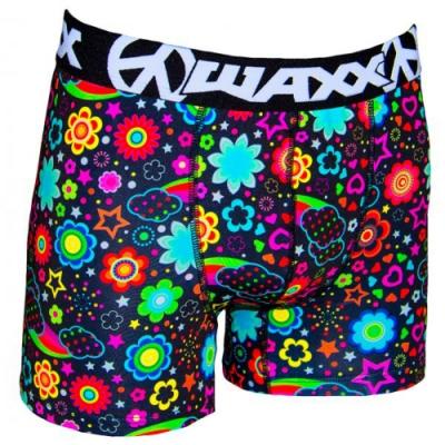 WAXX數位花彩雲朵高質感吸濕排汗四角褲男內褲