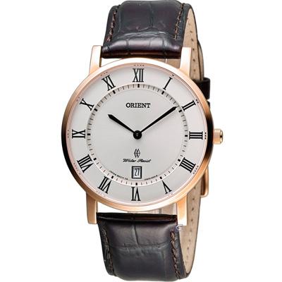 ORIENT 東方錶簡約時尚石英錶(FGW0100EW)