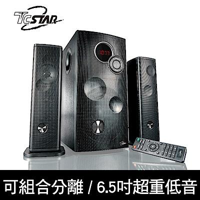 [時時樂限定]TCSTAR 可分離式藍牙/FM/USB/AUX 2.1環繞劇院喇叭 TCS9200