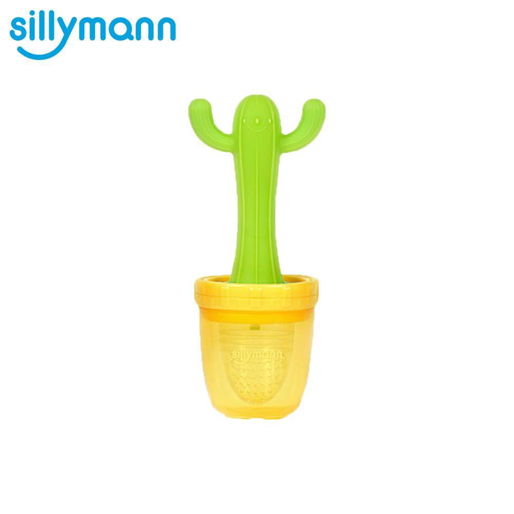 韓國sillymann-100%鉑金矽膠仙人掌蔬果固齒咬咬樂