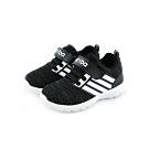 艾樂跑Arriba童鞋 針織休閒鞋-黑 (TD-6294)