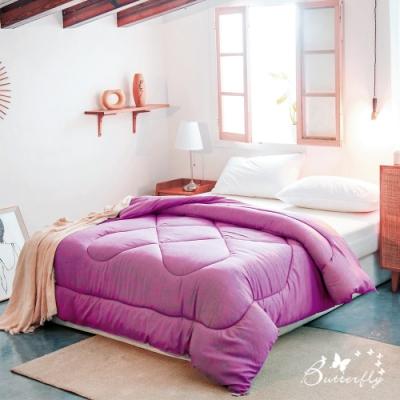 BUTTERFLY-3M吸濕排汗機能被胎-單人被胎-葡萄紫