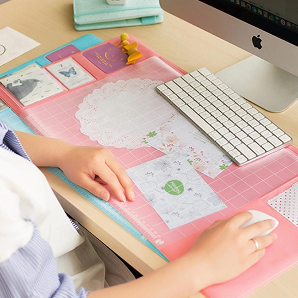 E-dot 多功能文書辦公桌墊(二色)