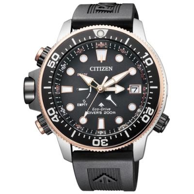CITIZEN星辰 深海泰坦光動能30週年紀念款潛水錶(BN2037-11E)46.1mm