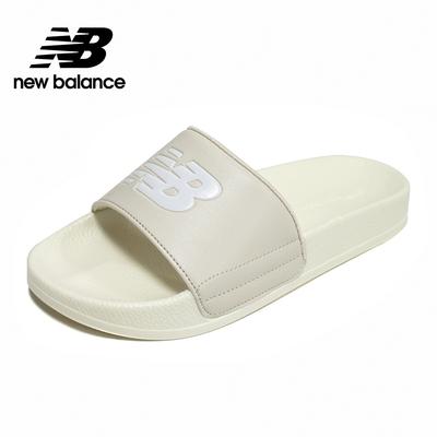 【New Balance】韓國涼拖鞋_中性_奶油白_SD1101IBE-M楦