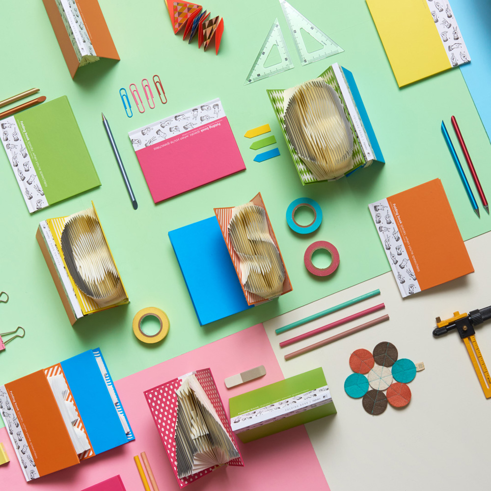賽先生科學 3D字母摺紙筆記本 (五色)