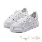 Pineapple Outfitter 活力女孩必備 經典百搭小白鞋-白色