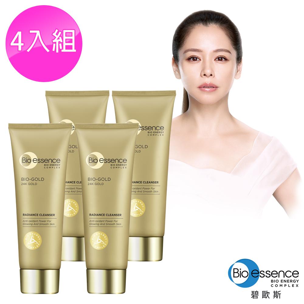 Bio-essence 碧歐斯 BIO金萃喚膚潔面霜100g(4入組)
