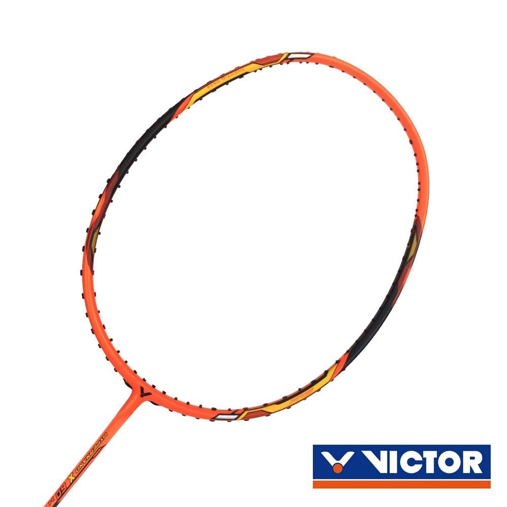VICTOR HYPERNANO X羽球拍-3U 橘黃