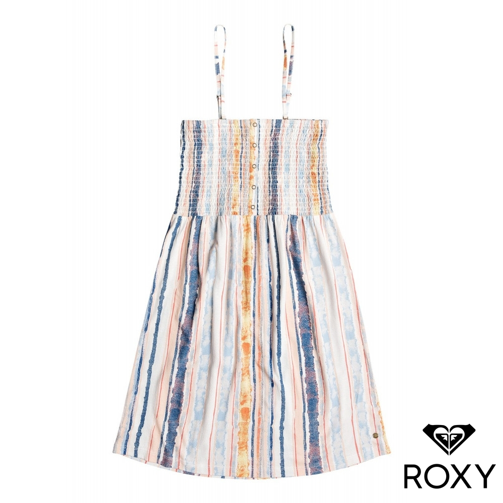 【ROXY】 SUMMERLAND PARTY 洋裝 白