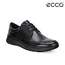 ECCO IRVING 精緻質感紳士鞋 男-黑