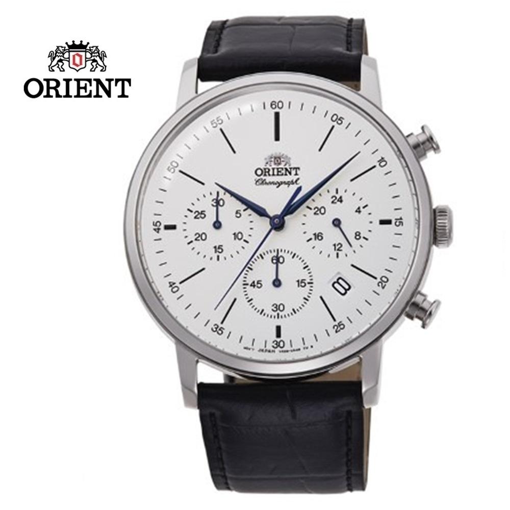 ORIENT 東方錶 Multi-eyes 經典系列 皮帶款 白色 RA-KV0405S  - 42.4 mm