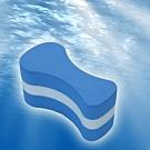 索樂生活 八字夾腿游泳訓練輔助漂浮板.高密度EVA初學者自由泳打水8字夾腿板練習輔助器具