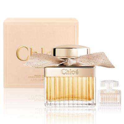 Chloe 極緻女性淡香精50ml+同名女性淡香精5ML