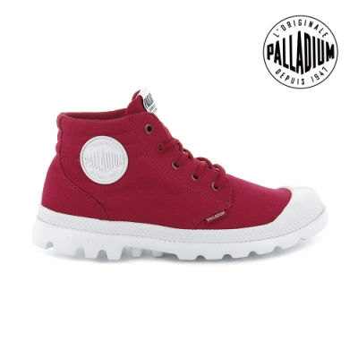 PALLADIUM BLANC LITE LOW CUFF輕量低筒靴-女-紅