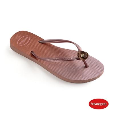 Havaianas哈瓦仕 拖鞋 漸層 夾腳拖 人字拖 巴西 女鞋 番紅花 4146125-3544W Slim Poem Vortex