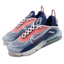 Nike 休閒鞋 Air Max 2090 運動 男鞋 氣墊 舒適 避震 簡約 球鞋 穿搭 藍 紅 CT1091101