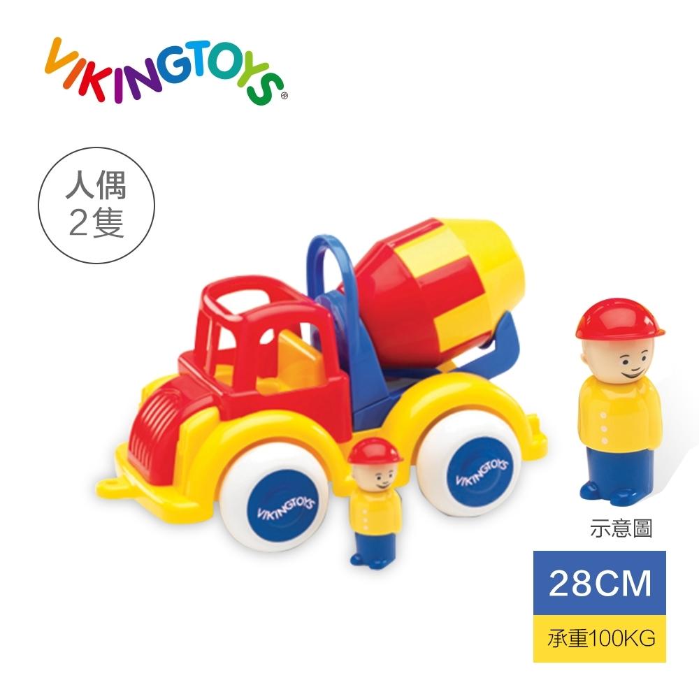 【瑞典 Viking toys】Jumbo水泥車(含2隻人偶)-28cm