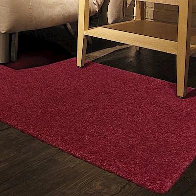 范登伯格 - 露娜 進口仿羊毛踏墊 - 紅色 (60 x 115cm)
