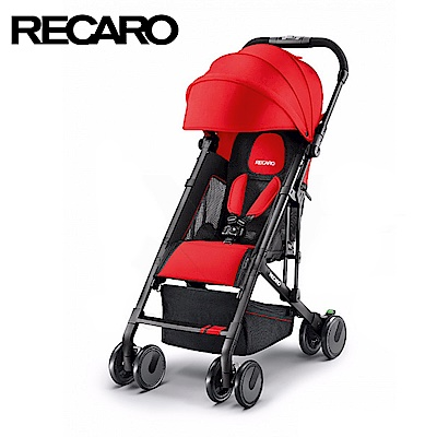 德國《RECARO》Easylife嬰幼兒手推車-晶鑽紅