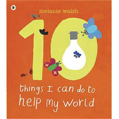 Ten Things I Can Do To Help My World 平裝繪本