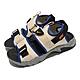 Nike 涼鞋 Canyon Sandal 男女鞋 基本款 魔鬼氈 情侶穿搭 夏日 米白 灰 CI8797202 product thumbnail 1