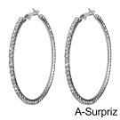 A-Surpriz 摩天輪大圈圈晶鑽耳環
