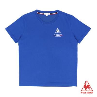 法國公雞牌短袖T恤 LOL2310636-中性-寶藍