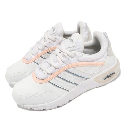 adidas 休閒鞋 9tis Runner 運動 女鞋 海外限定 舒適 簡約 球鞋 穿搭 白 粉 FW9447