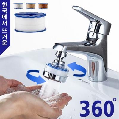Reddot紅點生活 360度省水增壓水龍頭過濾器