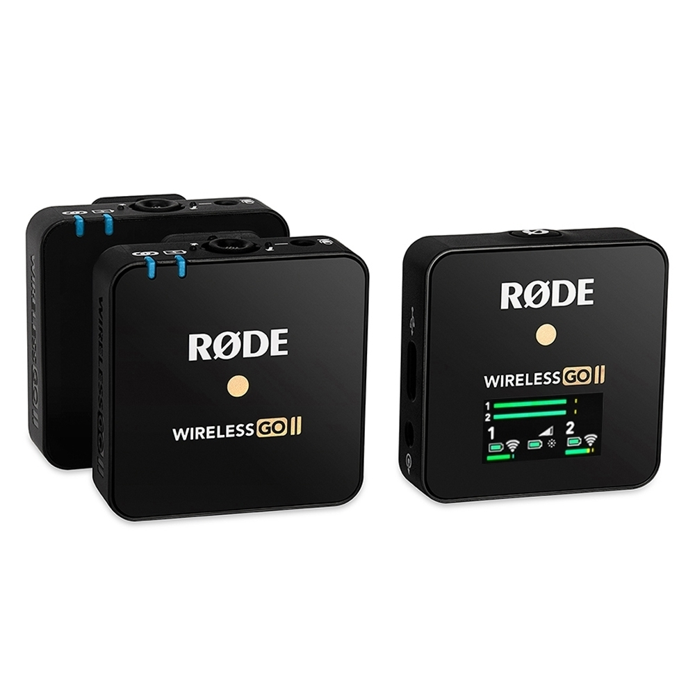 RODE Wireless GO II 微型無線麥克風 (公司貨)