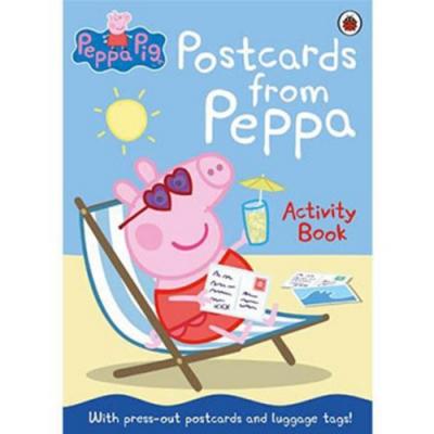 Peppa Pig:Postcards From Peppa 佩佩豬的明信片活動平裝本