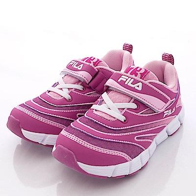 FILA頂級童鞋款 輕量運動款 24P-951紫紅(中童段)0