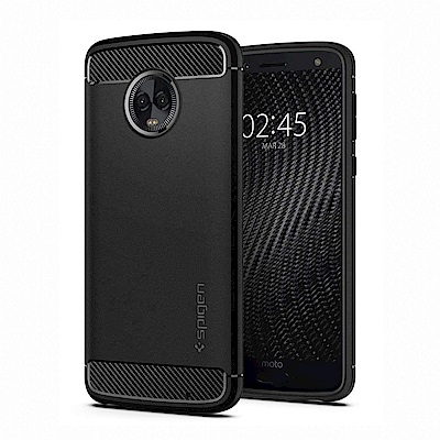 Spigen  Moto G6 Plus Rugged Armor 軍規防摔保護殼
