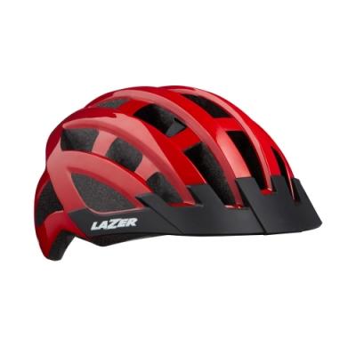 【LAZER】COMPACT 自行車安全帽 紅色