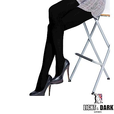 LIGHT & DARK 生薑發熱前後加大檔片褲襪(回饋4雙組)