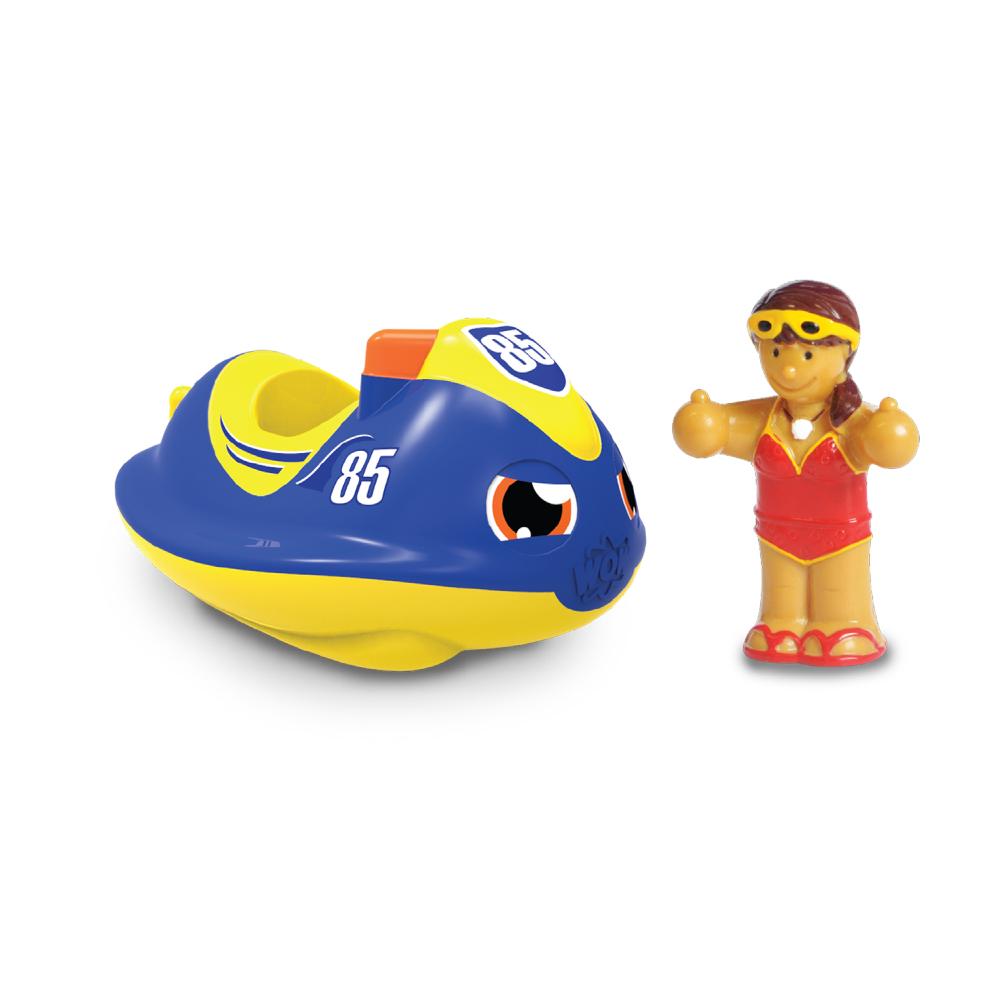 【WOW Toys 驚奇玩具】 洗澡玩具 - 水上摩托車 潔西