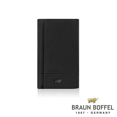 BRAUN BUFFEL - 邦尼系列鎖圈鑰匙包 - 幻影黑