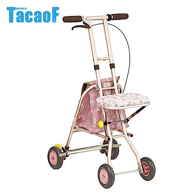 日本TacaoF幸和 標準型助步車SICP01型-花漾粉