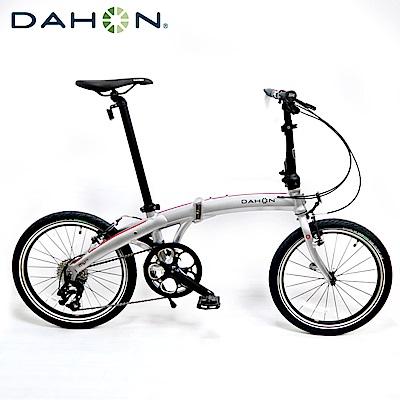 DAHON大行 MU D9 20吋9速鋁合金折疊單車-鏡面銀